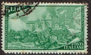 Italy # 498 Used