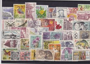 Czechoslovakia stamps Ref 13816