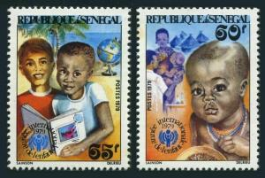 Senegal 506-507,MNH.Michel 699-700. Year of the Child IYC-1979.Infant,