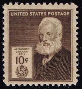 US #893 Alexander Graham Bell; Unused (11.00)