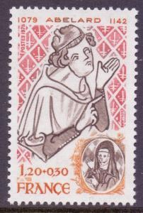France SG2295 - YT 2031, 1979 Red Cross Fund 1f20 MNH**