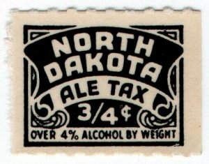 (I.B) US Revenue : Ale Tax ¾c (North Dakota)