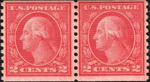 U.S. 492 FVF NH PAIR. (60418)