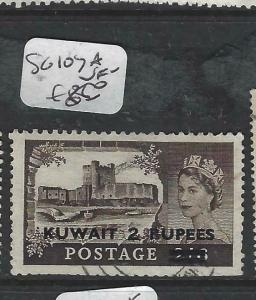 KUWAIT (P1804B)  ON GB  QEII  2R/2/6  SG 107A   VFU