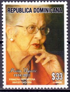 Dominican Republic. 2013. 2338. Writer, historian. MNH.