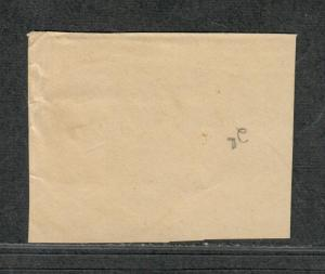 US Sc#25a Used/A, On Piece, Cv. $850