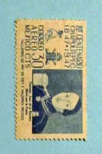 Mexico - C181, MNH. Lieut. Juan de la Barrera. SCV - $0.25