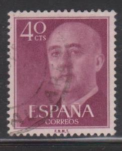Spain Sc#820 Used