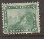 Nicaragua #7 Mint No Gum