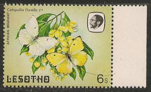 Lesotho #426 (SG #568) VF MNH - 1984 6s Butterfly