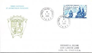 French Southern and Antarctic Terr., Polar, Ships