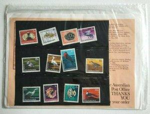 MCK96) Cocos Keeling Islands 1969 Definitives Birds & Marine Life Stamp Pack MUH