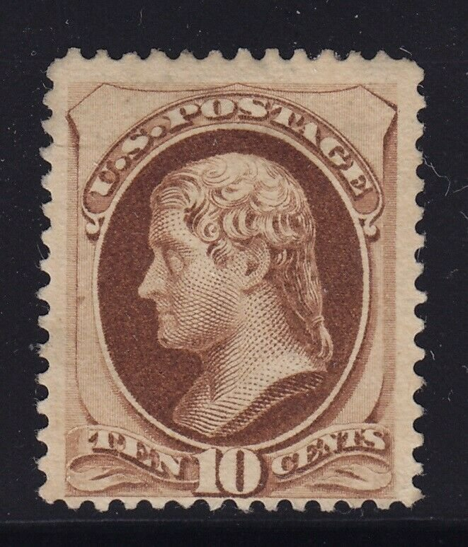 187 Type l VF unused ( mint no gum ) with nice color cv $ 1100 ! see pic !