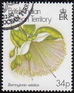 BIOT 2000 used Sc #227 34p Barringtonia asiatica Flowers
