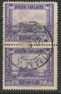 Somalia 1935-38 50c Perf. 14 Coppia Usato Italia Colonie Italy Colony A18P13F181