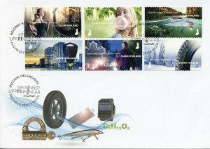 Finland Inventions Stamps 2020 FDC Made in Finland Science 6v S/A Set