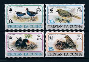 [53642] Tristan da Cunha 1991 Birds Vögel Oiseaux Ucelli WWF Gough Bunting MNH