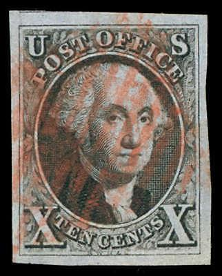 momen: US Stamps #2 Used PSE Graded XF-SUP 95