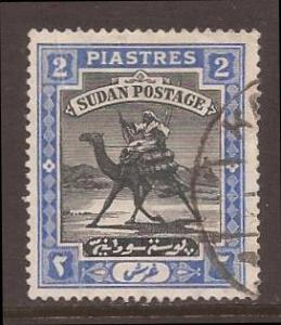 Sudan scott #24 used stock #T1558