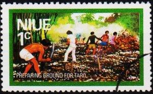 Niue. 1976 1c S.G.198 Fine Used