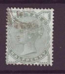 J14011 JLstamps 1880-1 great britain used #78 queen $13.50 scv