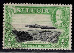 Saint Lucia Scott 95a Used perf 13x12 CV $26