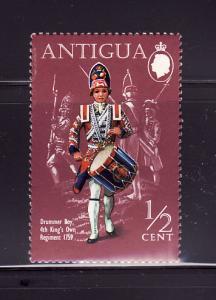 Antigua 262 MNH Military Uniform, Drummer Boy (B)