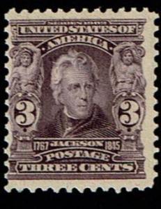 Scott #302 Fine-OG-LH. SCV - $55.00