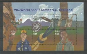 2002 Palau Scouts Jamboree Baden Powell ms6