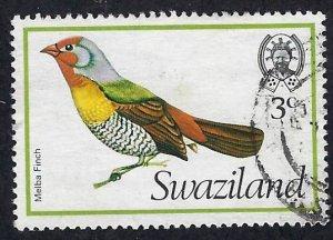 pb3432 Swaziland 253 used, cv 2.60 bin $1.25