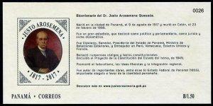 HERRICKSTAMP NEW ISSUES PANAMA Justo Arosemena S/S