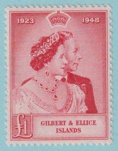 GILBERT & ELLICE ISLANDS 55  MINT HINGED OG * NO FAULTS VERY FINE!