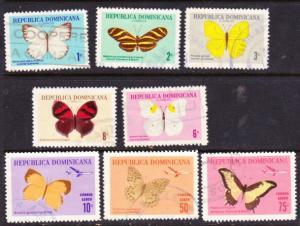 Dominican Rep #622-C148 butterflies