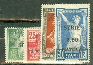 M: Syria 133-6 mint CV $120