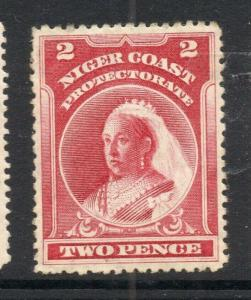 Niger Coast 1894-97 Early Issue Fine Mint Hinged 2d. 303806