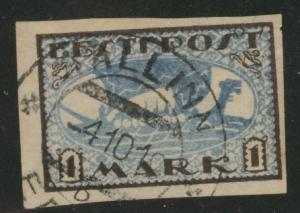 Estonia Scott 34 used from 1919-1920 set Viking Ship