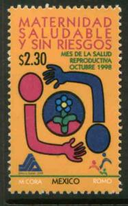 MEXICO 2095, Reproductive Health Month. MINT, NH. VF. (69)