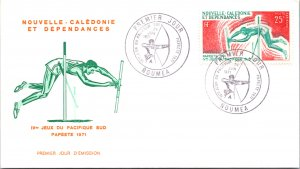 New Caledonia, Worldwide First Day Cover, Sports
