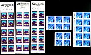 U.S. #3451, 3484 MINT BOOKLET PANES