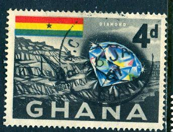 Ghana; 1959: Sc. # 54: O/Used Single Stamp