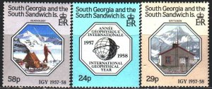 South Georgia. 1987. 165-67. Geophysical year, science. MNH.