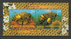 Bosnia and Herzegovina 2004 Honey Bee MNH Block