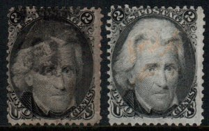 United States 73  used $ 120.00 2 diff