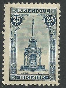 Belgium  # 123 Tower at Liege    (1) VF  Unused