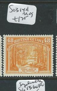 BRITISH GUIANA  (PP3012B) KGVI 60C  SG 315   MOG