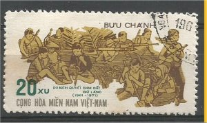 VIET NAM, NORTH, 1971, used 20xu, Anniversary of the PLAF. Vietcong SW 35