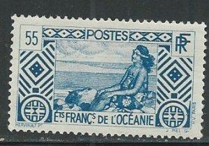 French Polynesia ||  Scott # 96 - MH