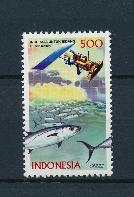 [39171] Indonesia 2000 Marine Life Fish from set MNH