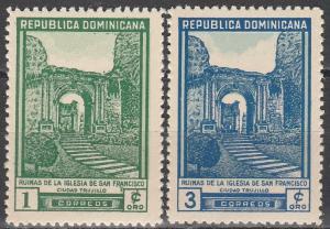 Dominican Republic #430-1  MNH   (S2296)