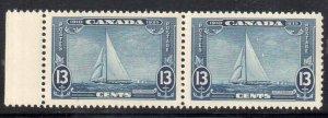 Canada #216var Mint XF NH Pair --Sinking boat Variety Error -- ECV$750.00